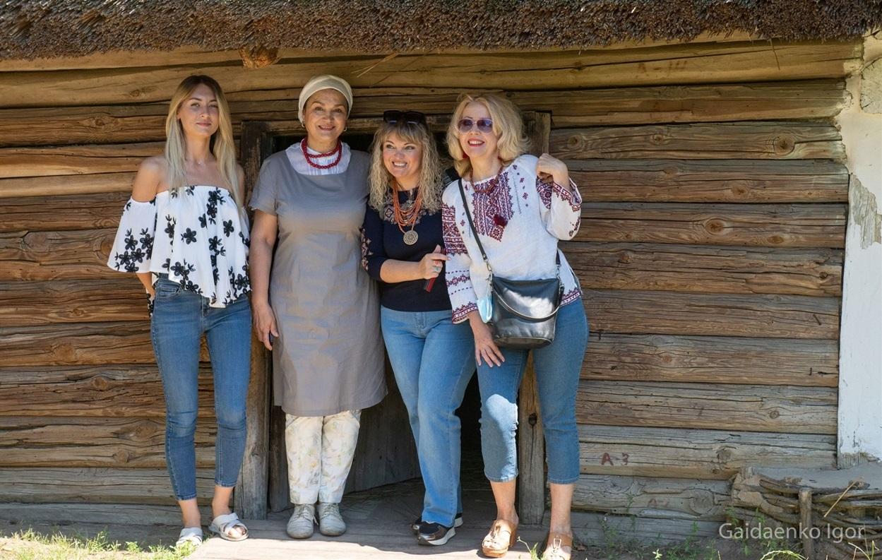 Наталія Сумська неодноразово гостювала у Музеї просто неба, останнього разу на Зажинках